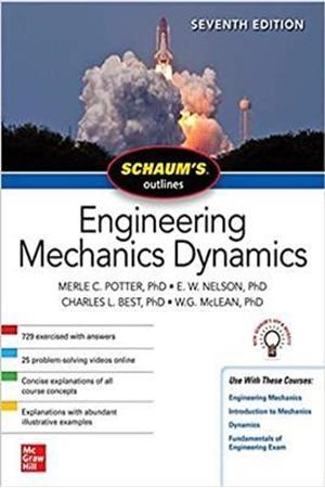 Resim Schaum's Outline of Engineering Mechanics Dynamics 7e