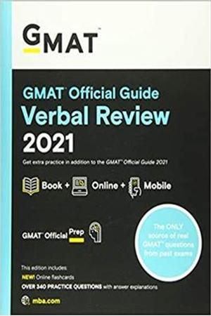 Resim GMAT Official Guide Verbal Review 2021
