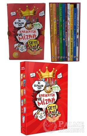 Resim Karikatür ve Mizah Seti (10 Kitap Takım)