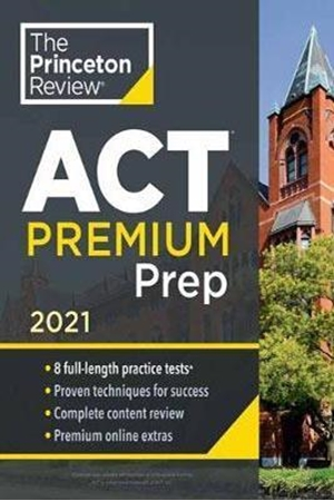 Resim The Princeton Review ACT Premium Prep 2021