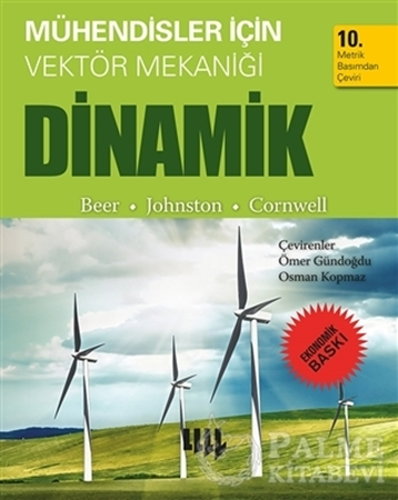 Resim Mühendisler için Vektör Mekaniği Dinamik (Ekonomik Baskı)