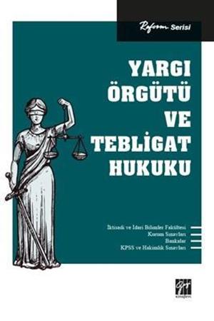 Resim Yargı Örgütü ve Tebligat Hukuku