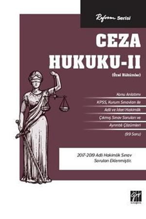 Resim Ceza Hukuku - 2 (Özel Hükümler)