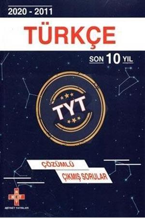 Resim TYT Türkçe Son 10 Yıl Çözümlü Çıkmış Sorular 2011-2020