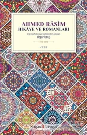Resim Ahmed Rasim - Hikaye ve Romanları Cilt 2