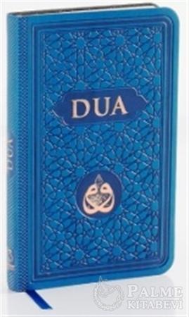 Resim Dua (Evrad-ı Şerife) Cep Boy Arapça+Türkçe - Mavi