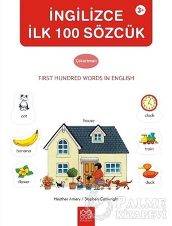 Resim İngilizce İlk 100 Sözcük Çıkartmalı