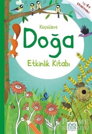 Resim Küçüklere Doğa Etkinlik Kitabı