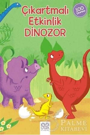 Resim Dinozor - Çıkartmalı Etkinlik