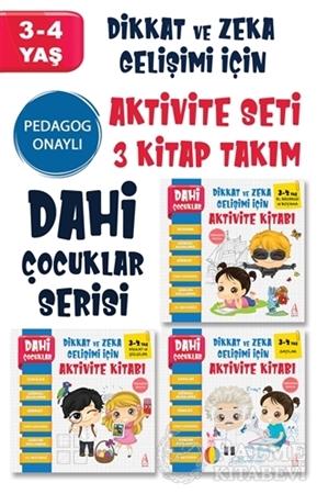 Resim Dahi Çocuklar Serisi Aktivite Seti 3-4 Yaş – (3 Kitap Takım)
