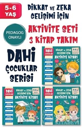 Resim Dahi Çocuklar Serisi Aktivite Seti 5-6 Yaş (3 Kitap Takım)