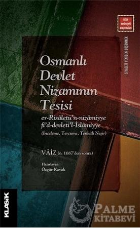 Resim Osmanlı Devlet Nizamının Tesisi