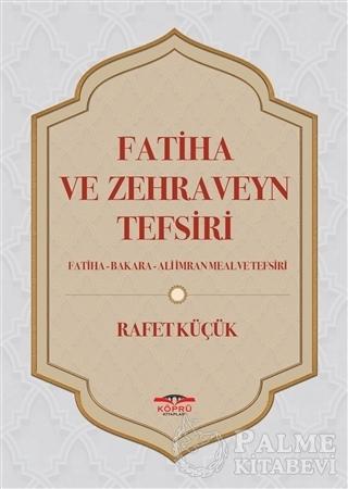 Resim Fatiha ve Zehraveyn Tefsiri