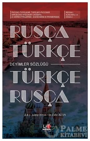 Resim Rusça-Türkçe / Türkçe-Rusça Deyimler Sözlüğü