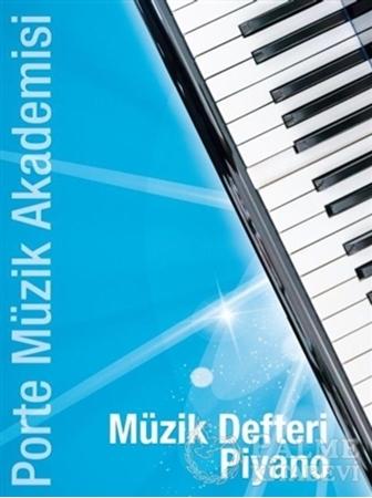 Resim Müzik Defteri Piyano
