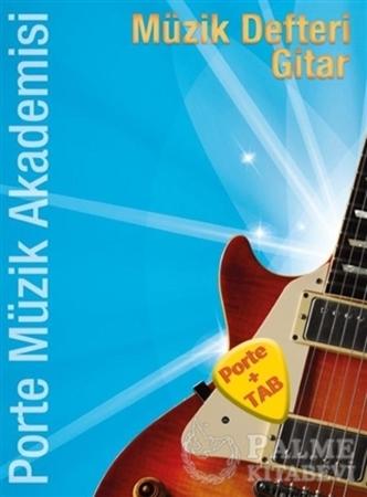 Resim Porte Müzik Akademisi Müzik Defteri Gitar