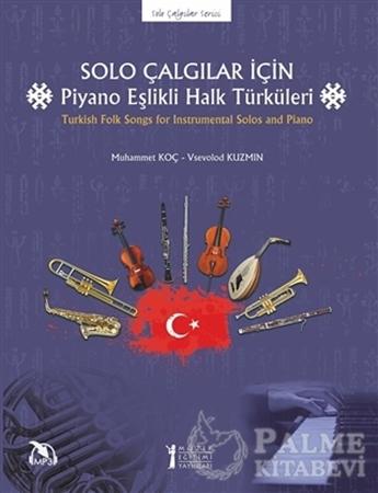 Resim Solo Çalgılar İçin Piyano Eşlikli Halk Türküleri