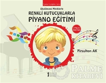 Resim Okulöncesi Miniklere Renkli Kutucuklarla Piyano Eğitimi