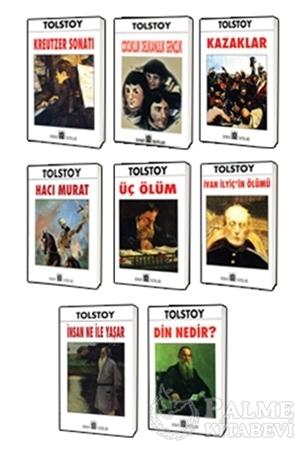 Resim Tolstoy Klasikleri 8 Kitap Set