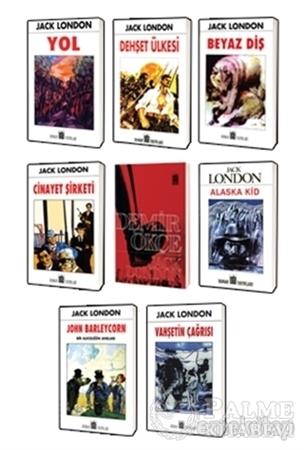 Resim Jack London Klasikleri 8 Kitap Set 2