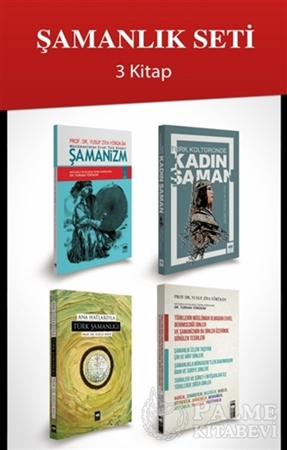 Resim Şamanlık Seti (4 Kitap Takım)