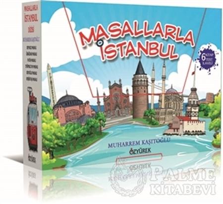 Resim Masallarla İstanbul Dizisi (6 Kitap Kutulu - Her Bir Kitap İçin 20 Sorulu Test Kitabı İlaveli)