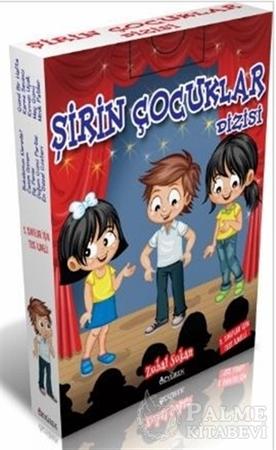Resim Şirin Çocuklar Dizisi (10 Kitap Kutulu)