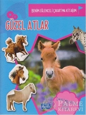 Resim Güzel Atlar - Benim eğlenceli Çıkartma Kitabım