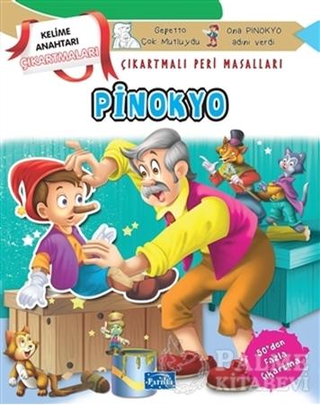 Resim Pinokyo - Çıkartmalı Peri Masalları