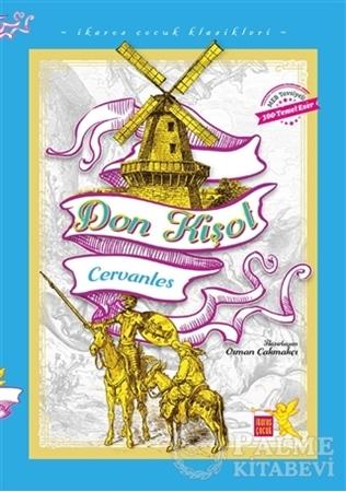Resim Don Kişot - İkaros Çocuk Klasikleri (İki Farklı Renkte)