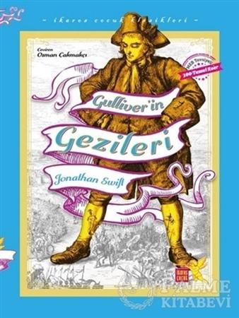 Resim Gulliver'in Gezileri - İkaros Çocuk Klasikleri (İki Farklı Renkte)