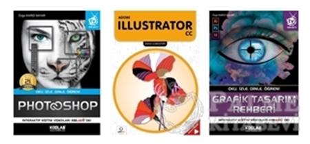 Resim Grafik Tasarım Seti (3 Kitap Takım)