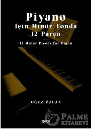 Resim Piyano İçin Minör Tonda 12 Parça