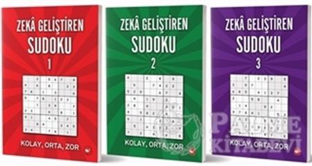 Resim Zeka Geliştiren Sudoku Seti (3 Kitap Takım)
