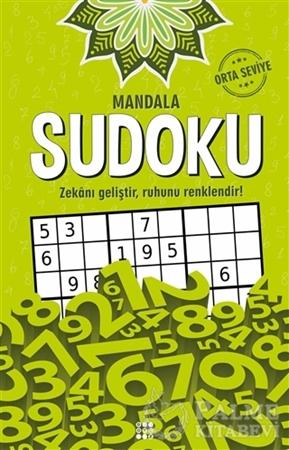 Resim Mandala Sudoku - Orta Seviye
