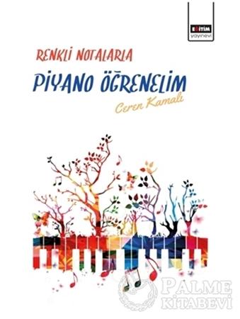 Resim Renkli Notalarla Piyano Öğrenelim