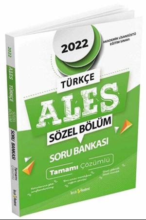 Resim 2022 ALES Tamamı Çözümlü Sözel Soru Bankası