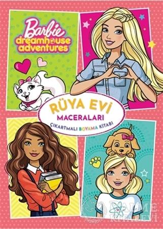 Resim Barbie Rüya Evi Maceraları Çıkartmalı Boyama Kitabı