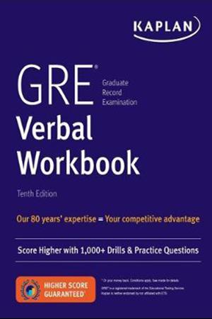 Resim GRE Verbal Workbook 10e