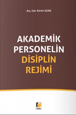 Resim Akademik Personelin Disiplin Rejimi