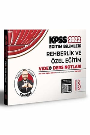 Resim 2022 KPSS Eğitim Bilimleri Rehberlik Video Ders Notları