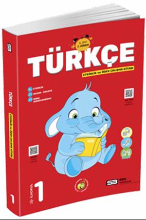 Resim 1. Sınıf Türkçe Etkinlik ve Ödev Çalışma Kitabı