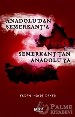 Resim Anadolu'dan Semerkant'a Semerkant'tan Anadolu'ya
