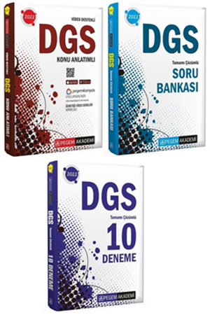 Resim 2022 DGS Konu + Soru + Deneme 3'lü Set