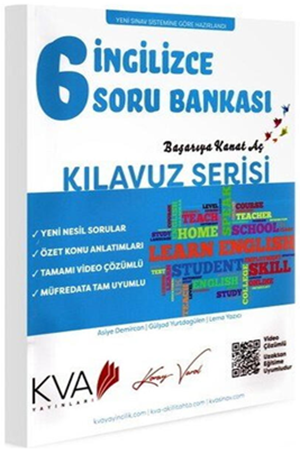 Resim 6. Sınıf İngilizce Kılavuz Serisi Soru Bankası