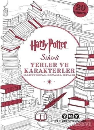 Resim Harry Potter Sihirli Yerler ve Karakterler