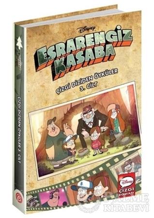 Resim Disney Esrarengiz Kasaba - Çizgi Diziden Öyküler 3. Cilt