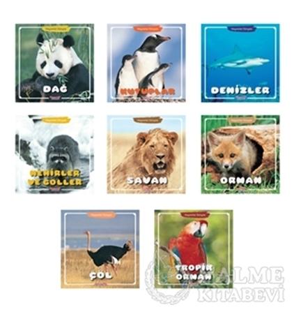 Resim Hayvanlar Dünyası Serisi (8 Kitap Takım)