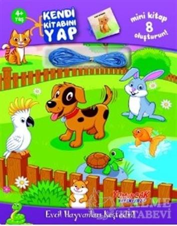 Resim Evcil Hayvanları Keşfedin! - Kendi Kitabını Yap