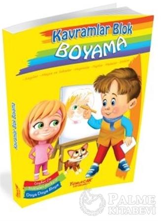 Resim Kavramlar Blok Boyama